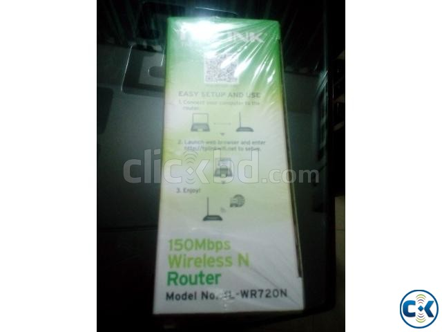 TP-Link TL-WR720N Wireless Router | ClickBD large image 2