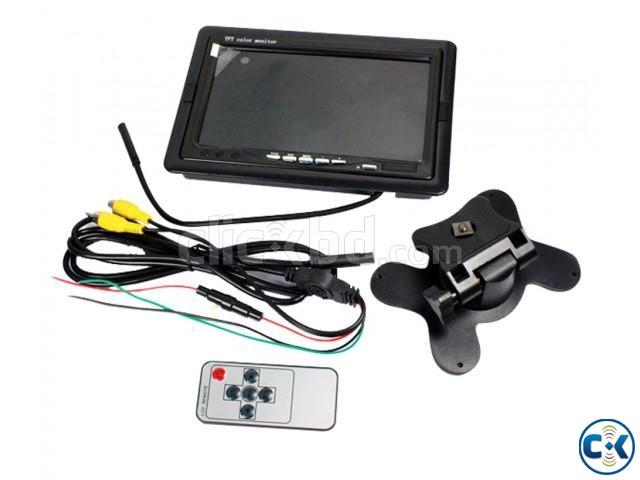 7 TFT LCD Car Rear View Backup Monitor | ClickBD large image 0