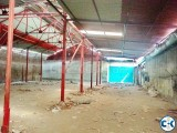 Factory Space or Warehouse for rent