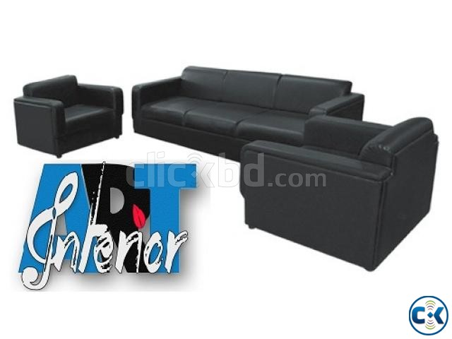 Office Sofa For Reception | ClickBD large image 2