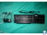 DELL Keyboard Mouse Combo