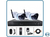 2pcs Wi-Fi CCTV Camera Package Price in Bangladesh