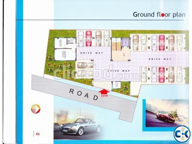 Beautiful Flat B-1110sqft Badda | ClickBD large image 2