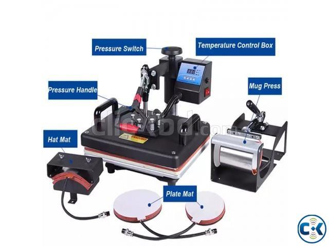 Digital Combo Heat Press 5 in 1 | ClickBD large image 0