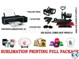 Sublimation Machine (Full Package)
