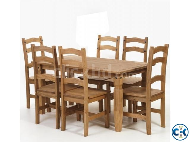 Dining table set model-2017-20 | ClickBD large image 0