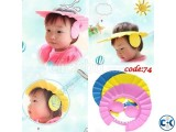 Baby Bath Shower Cap With Ear Protection 1pc