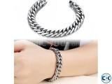 Fashion Punk Style Men s Classical Biker Chain Bracelet -1pc