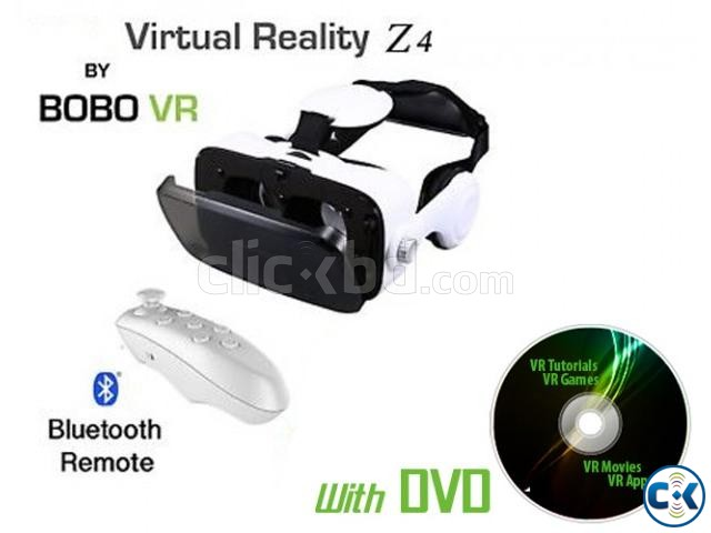BOBO VR Z4 3D VR Headset With Headphone | ClickBD large image 0