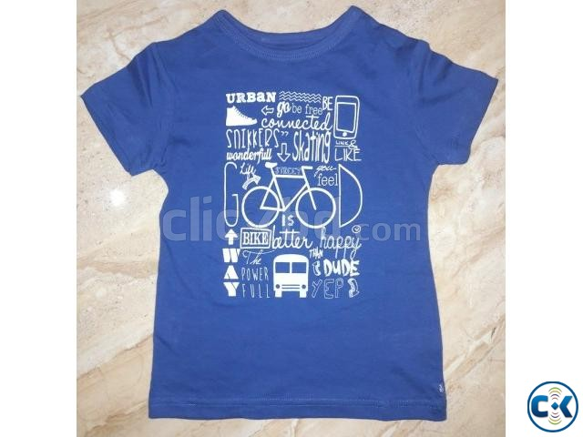 Boys Printed T -Shirt | ClickBD large image 0