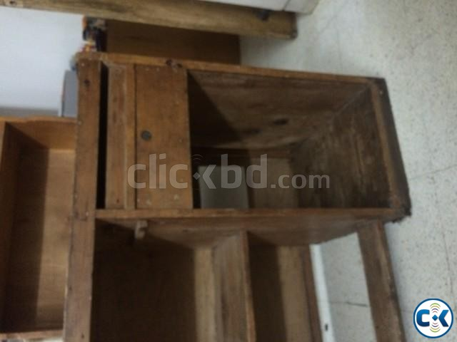 Wooden Study Table | ClickBD large image 3