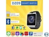 DZ09 Smart Watch Mobile Watch- SIM Support -