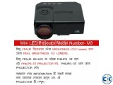 PHILIPS M3 Mini LED 3D Projector With TV Port--