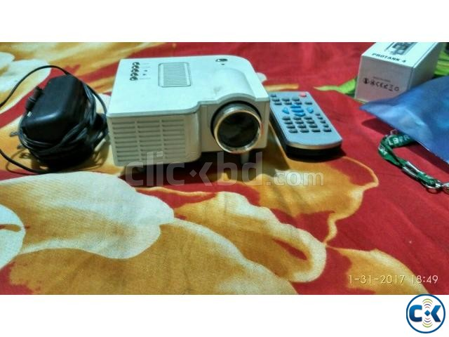 Mini Projector for sell | ClickBD large image 1