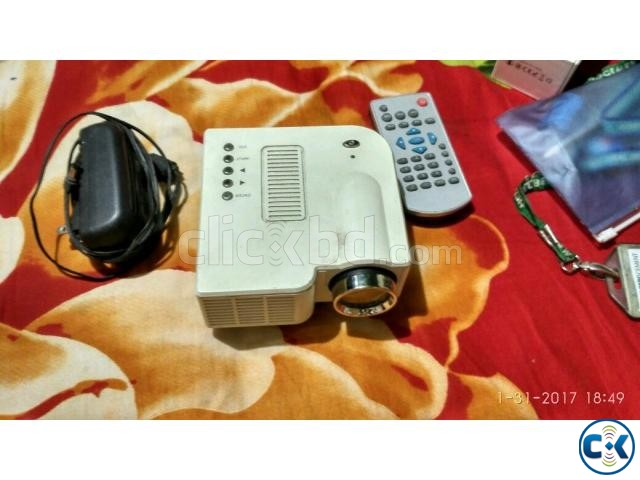 Mini Projector for sell | ClickBD large image 3