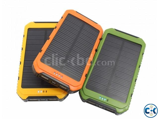 Solar Power bank 20000Mah | ClickBD large image 0