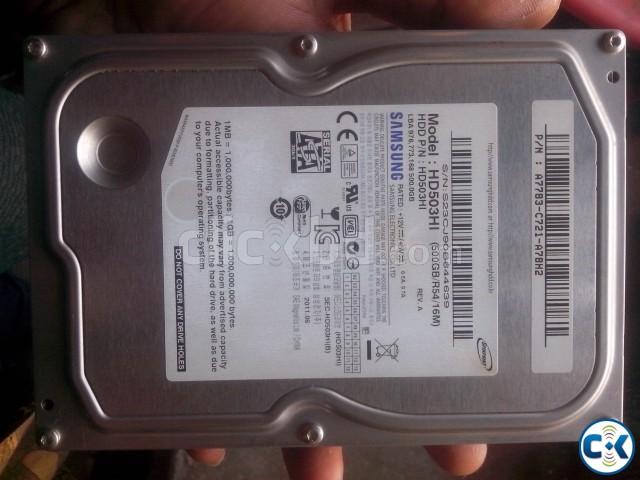 500 GB HARDISK SAMSUNG | ClickBD large image 0