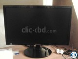 HP Samsung 19 LED monitor with mark