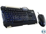 ThermalTake COMMANDER LED Gaming Keyboard and Mouse Combo