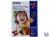 Epson Glossy A4 Photo Paper