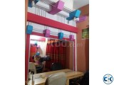 Runing Beauty parlour For sale
