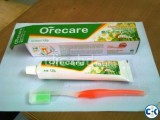 Tienshi Toothpaste and Brush