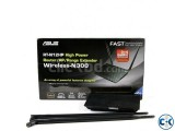 Asus RT-N12HP High Power Wireless N300 3-in-1 Router
