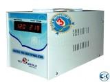 Digital Voltage Stabilizer 650 va