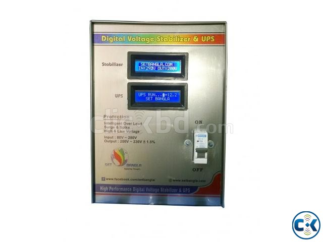 Digital Voltage Stabilizer UPS | ClickBD large image 0