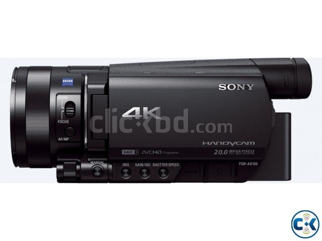 sony semi pro 4k video camera fdr ax100 b for sale clickbd. Black Bedroom Furniture Sets. Home Design Ideas