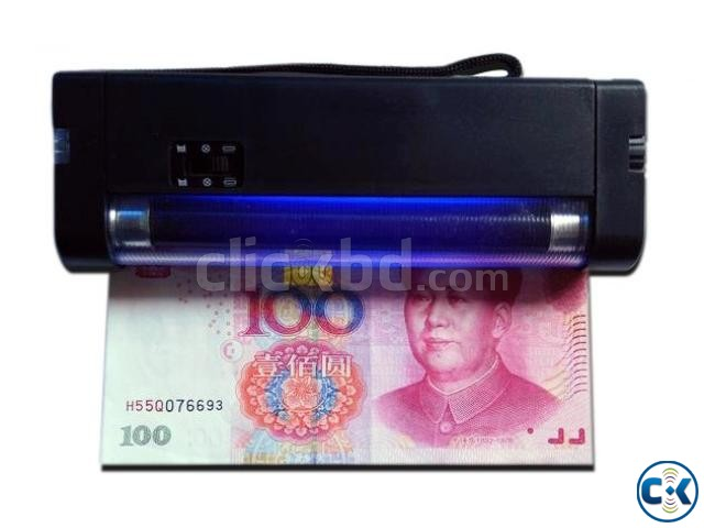 Portable uv light money detector with torch | ClickBD large image 3