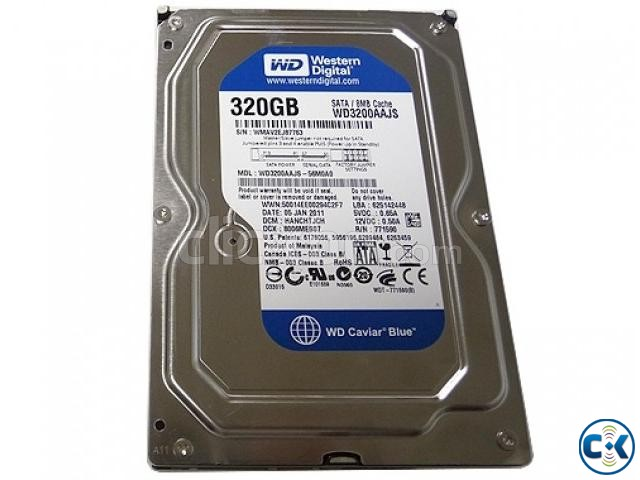 Western Digital 320GB 8MB Cache 7200RPM SATA Hard Drive   ClickBD large image 0