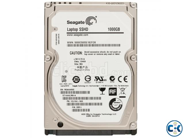 Seagate 1TB Laptop Harddisk Thin 2.5 SATA | ClickBD large image 0