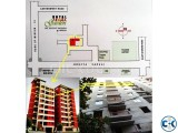 Ready Flat for Sale at Kazipara Mirpur 1200sft