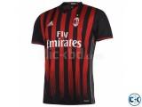 AC MILAN 2016-17 home half sleeve jersey