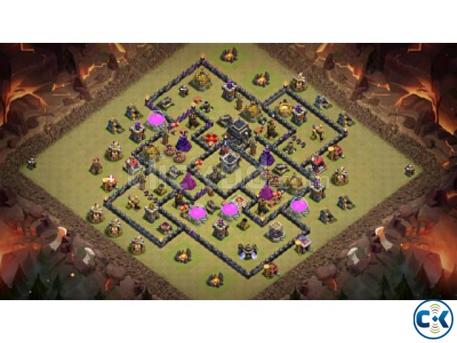 Clash of Clans COC max TownHall 9 | ClickBD large image 1