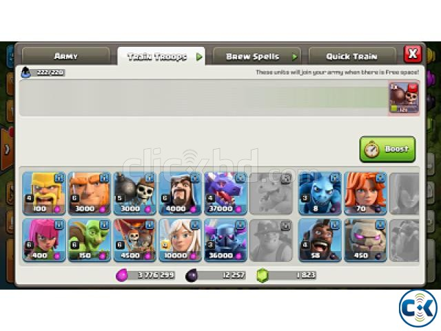 Clash of Clans COC max TownHall 9 | ClickBD large image 3