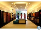 Showroom retail store interior design