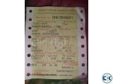 1 Dhaka-Chittagong Train Ticket