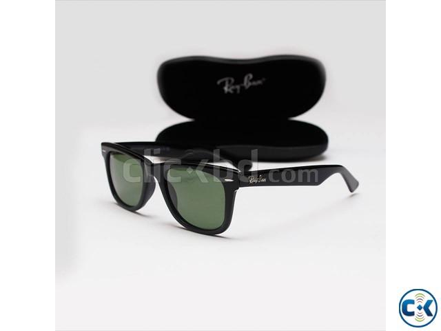 Wayfarer Black Frame Sunglasses AB0002 | ClickBD large image 0