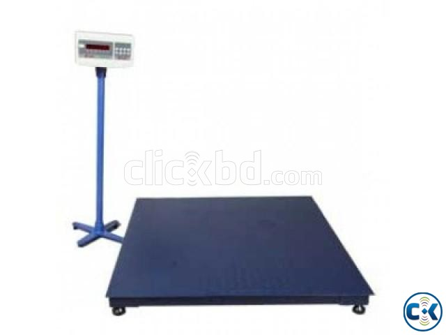 Digital Floor Scale 1 Ton Capacity | ClickBD large image 0