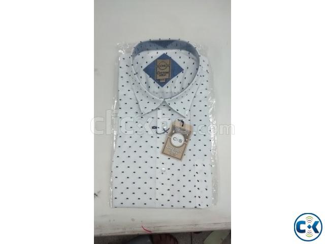 Cotton Silk Men s Half-Shirt | ClickBD large image 0