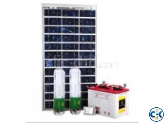 Power 30 Watt Solar Home Electric System | ClickBD large image 0