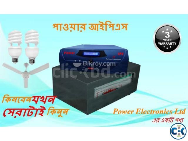 Power IPS 1000VA 5 Lights 5 Fans 3 Hours Battery Backup | ClickBD large image 0