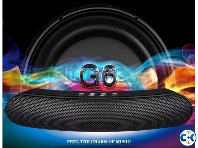 Wireless Long GiBox Bar Bluetooth Speaker G6 | ClickBD large image 3