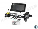 7 TFT LCD Car Rear View Backup Monitor
