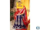 Wedding Benarosi Sari Lehenga Only 15
