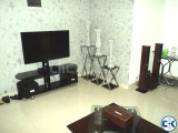Banani 1370sft flat rent 3Bed