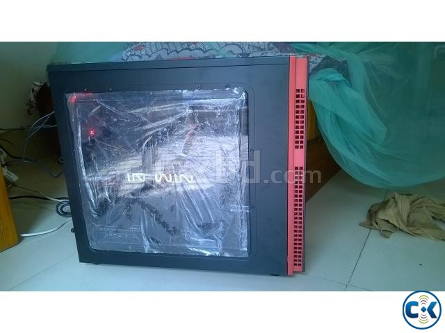 PC case IN WIN 703 black red | ClickBD large image 0