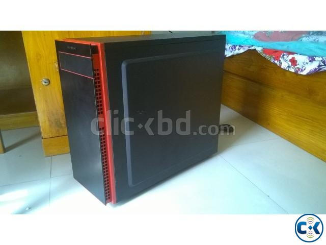 PC case IN WIN 703 black red | ClickBD large image 1